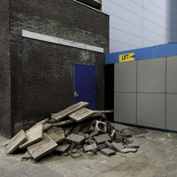 Rubble by Lift, Rotterdam, Netherlands