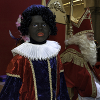 Young Black Pete and Sinterklaas