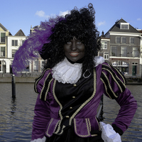 Young female Black Pete