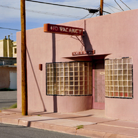 No Vacancy Pink Motel, Truth or Consequence, New Mexico