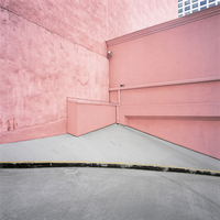 Pink Wall, Los Angeles, California