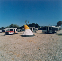 Teepee & Trailers, California