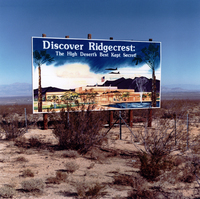 Ridgecrest off Rt. 40, California