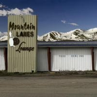 Lanes Lounge & Snow Cap Mountains, Colorado