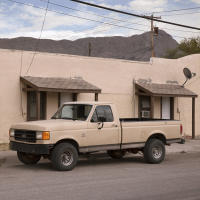 Tan Pickup, Truth or Consequence, New Mexico