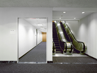 Escalator and Hallway, NY, New York