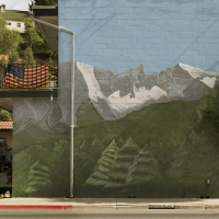 Mountain Mural, Ely, Nevada