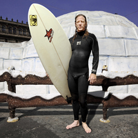 Igloo and the surfer, Mexico City
